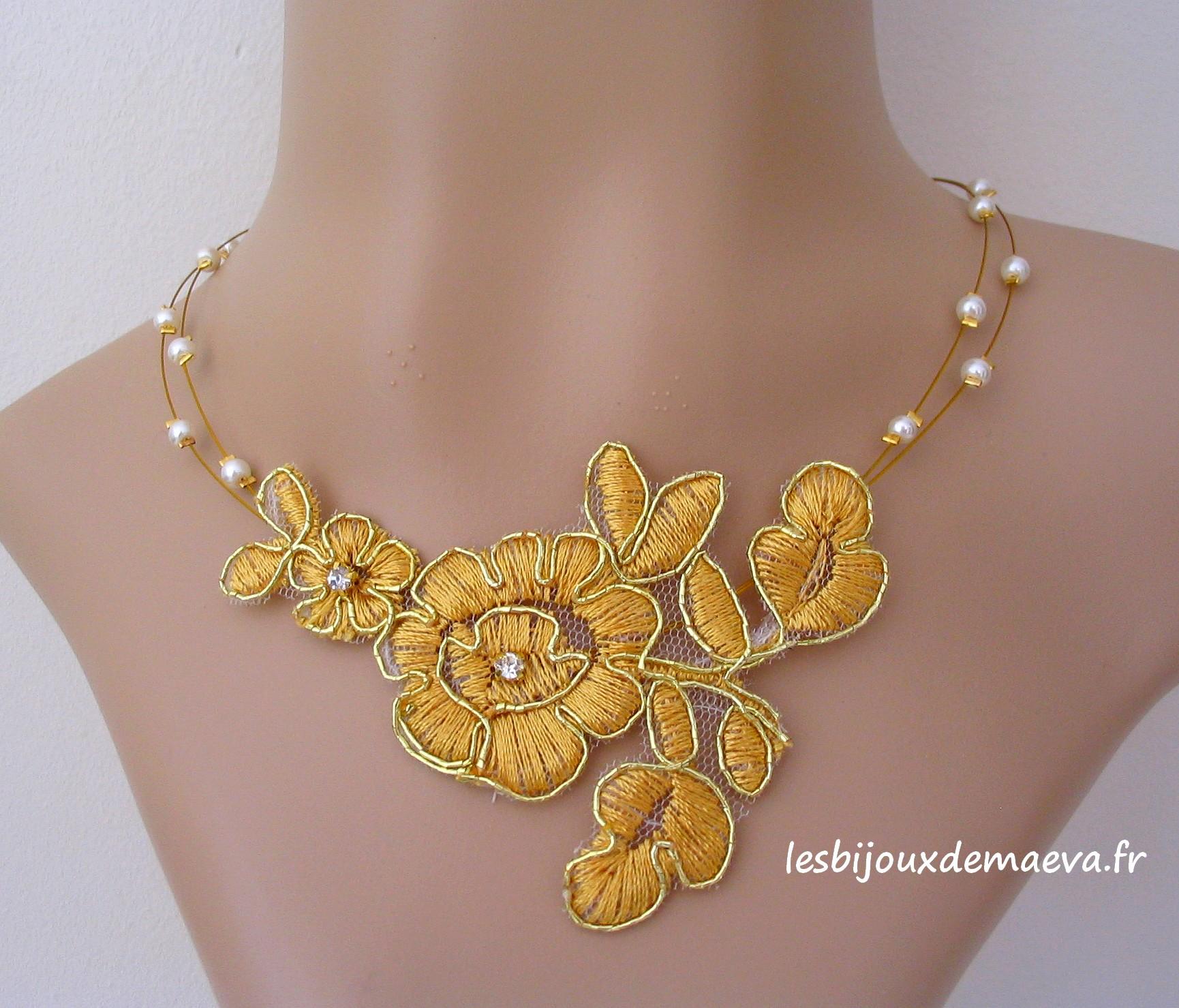 bijoux en dentelle