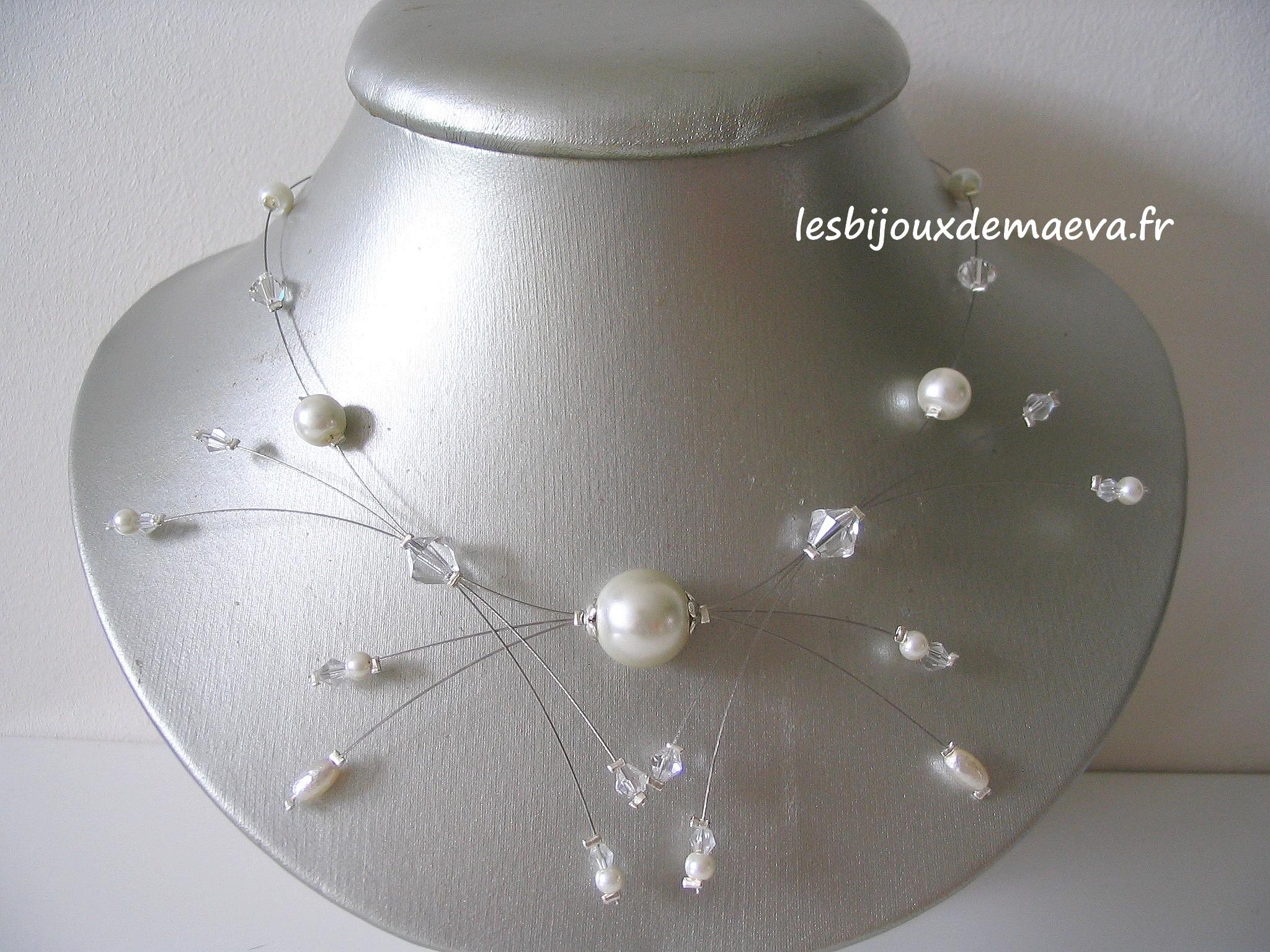 collier fantaisie pour mariage