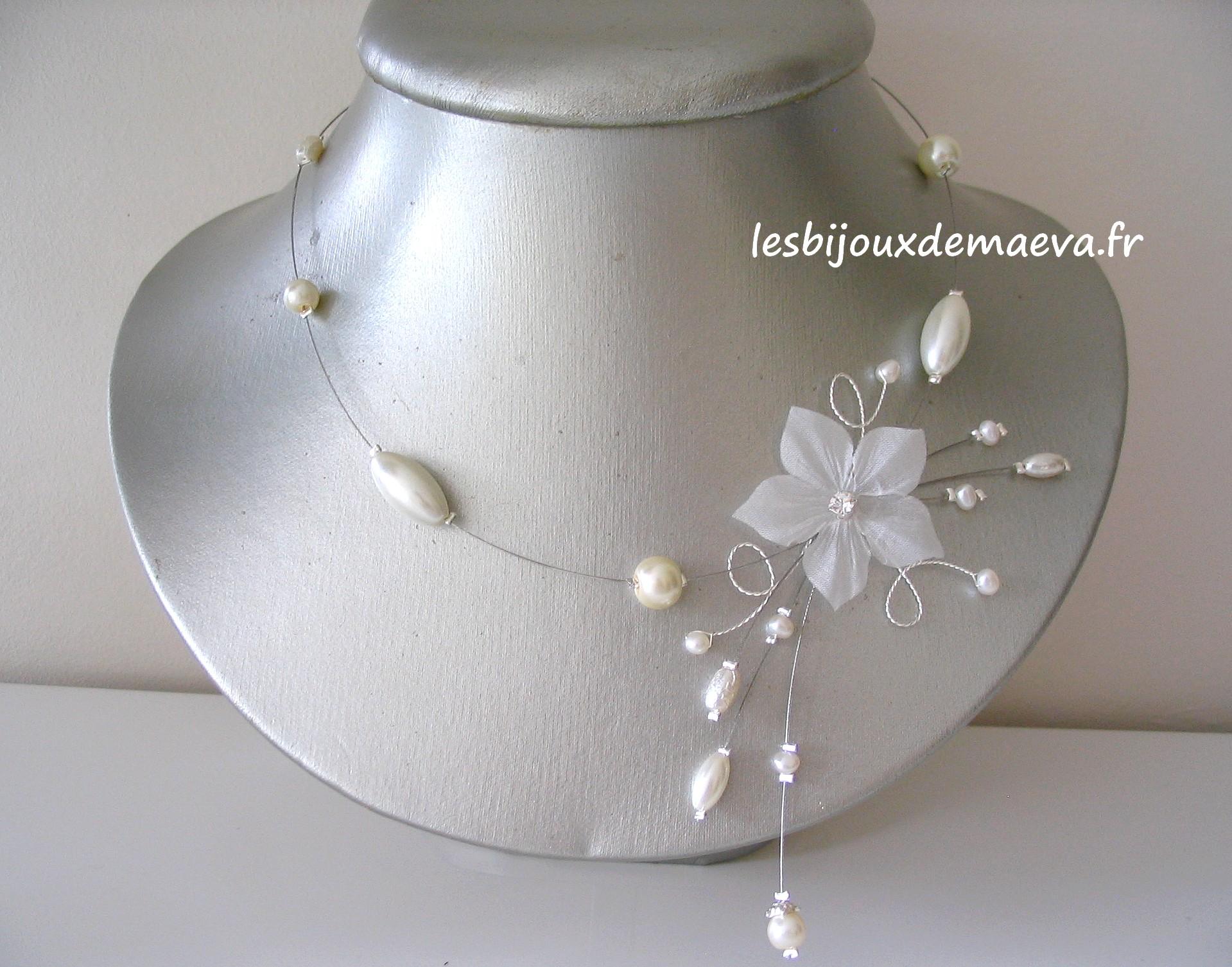 collier perle mariage pas cher